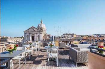 tips til flott hotell i roma