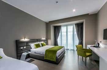 flott og moderne hotell i napoli