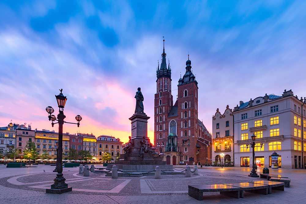 hotell i gamlebyen i krakow